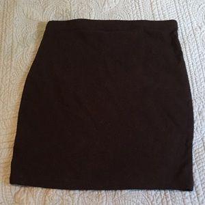 NWOT Decree Black miniskirt